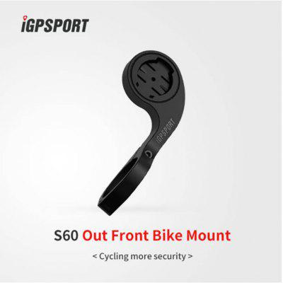 iGPSPORT S60  Extend Out Front Mount IGS50E iGS618 iGS20E Holder Handlebar for Garmin  iGPSPORT