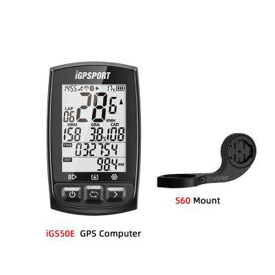 iGPSPORT iGS50E Bike computer GPS Enabled Bicycle Computer navigation Speedometer IPX7