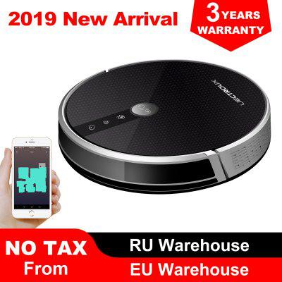 LIECTROUX C30B Robot Vacuum Cleaner Map navigation 3000Pa Suction Electric Water tank