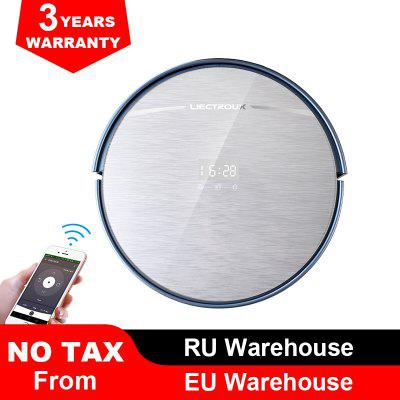 Liectroux X5S Robotic Vacuum Cleaner with WIFI APP Control Map Navigation