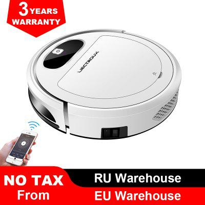 LIECTROUX 11S Robot Vacuum Cleaner Wifi App Control Electric Control Air Pump Water Tank