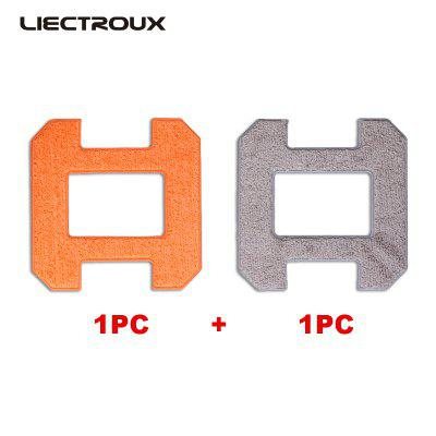 X6 LIECTROUX Fiber Mopping Cloths for Liectroux Window Cleaner Robot