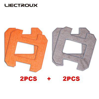 X6 LIECTROUX Fiber Mopping Cloths for robot window cleaner