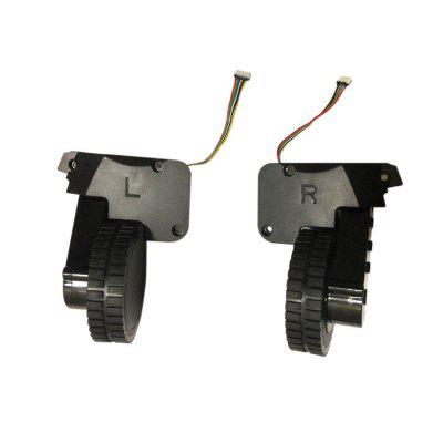 C30B LIECTROUX Left and Right Wheel Assembly for Robot Vacuum Cleaner - Black China