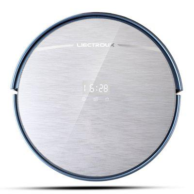 LIECTROUX X5S Robotic Vacuum Cleaner with WIFI APP Control Map Navigation Image