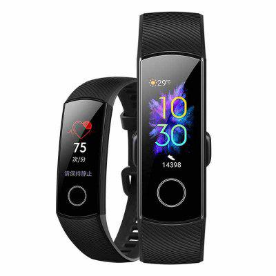 Huawei Honor Band 5 International Ver AMOLED Touch Screen Swim Posture Detect Heart Rate Smart Watch