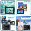 4K Action Camera HD 1080P WiFi Waterproof Mini Sport Cam 2 Inch LCD Screen 16MP Remote Control