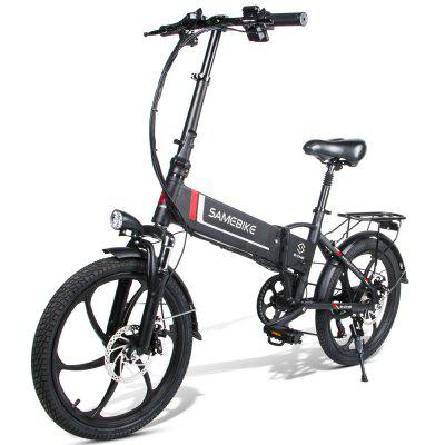 Samebike 20LVXD30 Smart Folding Electric Moped Bike E-bike 250W 7 speeds Image