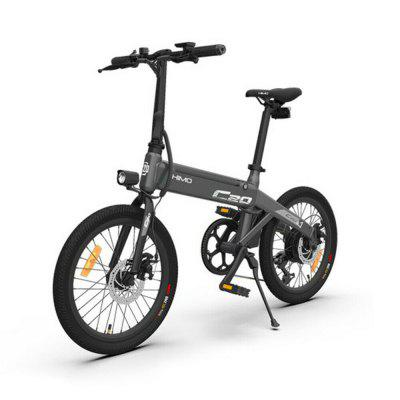 Original Xiaomi HIMO C20 Folding Electric Bicycle Moped E-Bike Power Assist 20 Inch 10AH Image