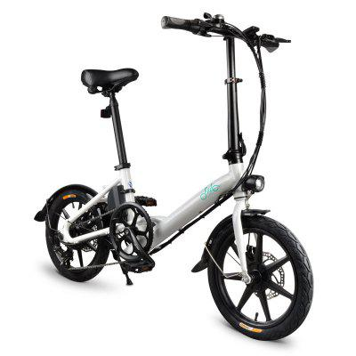 FIIDO D3S Folding Electric Bicycle Bike 36V 250W 16in Wheel Variable Speed City E-bike