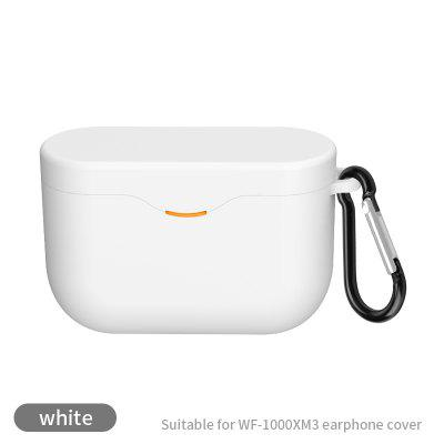 wf-1000xm3 silicone protective cover Sony xm3 headset storage bag charging box protective cover