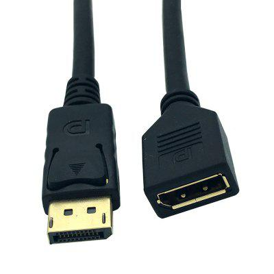 Displayport extension cable for PC Projectors HD TV Laptops Display Port Male to Female cable