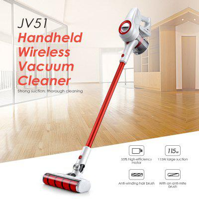 JIMMY JV51 Handheld Wireless Strong Suction Vacuum Cleaner from Xiaomi youpin Image