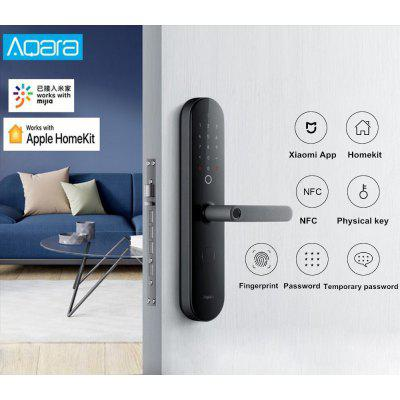 Xiaomi Aqara N100 Smart Door Lock Fingerprint Bluetooth Password Unlock Works with Mijia HomeKit