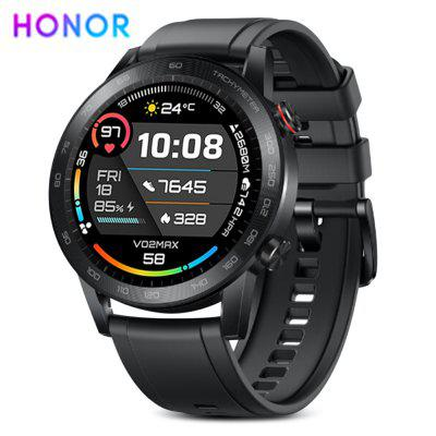 Honor MagicWatch 2 Rechargeable Sport Smartwatch 1.39 AMOLED Screen 455mAh Battery Long Duration