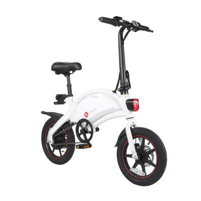 dyu D3plus Aluminum alloy 36V 10AH Battery Electric Bike Electric Bicycle Image