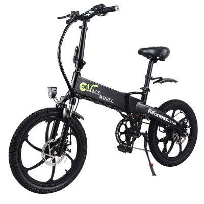 CMACEWHEEL 20 Inches Electric Bicycle 30km per Hour 350W 48V Lithium Battery Aluminum Alloy Image