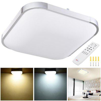 36 Watts 15 In Flush Mount Dimming LED Ceiling Light Fixture Remote