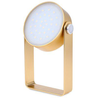 2W 29 LEDs Outdoor Multi-functional Waterproof LED Light Desk Lamp with USB Charging Port