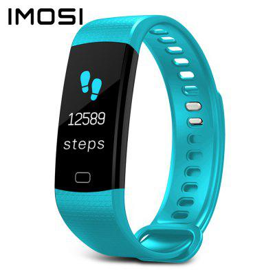 Imosi Y5 Smart Bracelet Color Screen Heart Rate Fitness Tracker IP67 Sleep Monitor Watch