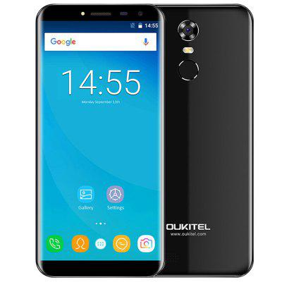 OUKITEL C8 3G Phablet 5.5 inch 2.5D Arc Screen Android 7.0 MTK6580A 1.3GHz Quad Core 2GB RAM 16GB ROM