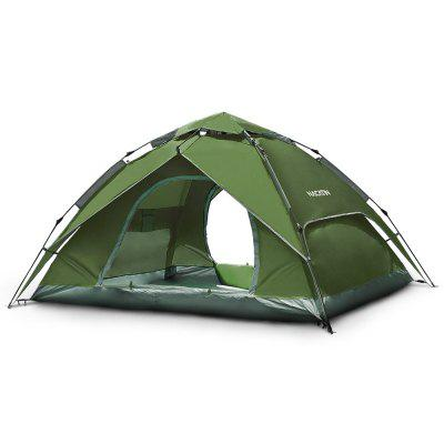 Automatic Dome Tent Double-skin Spring-loaded Camping Waterproof Oxford PU 3000mm Outdoor Mosquito Net
