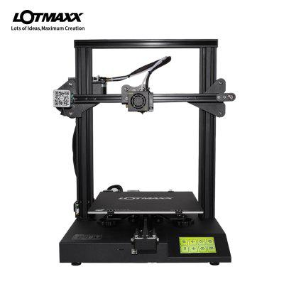 LOTMAXX SC-10 Build Volume 235x235x280mm Desktop 3D Printer with Meanwell Power Supply