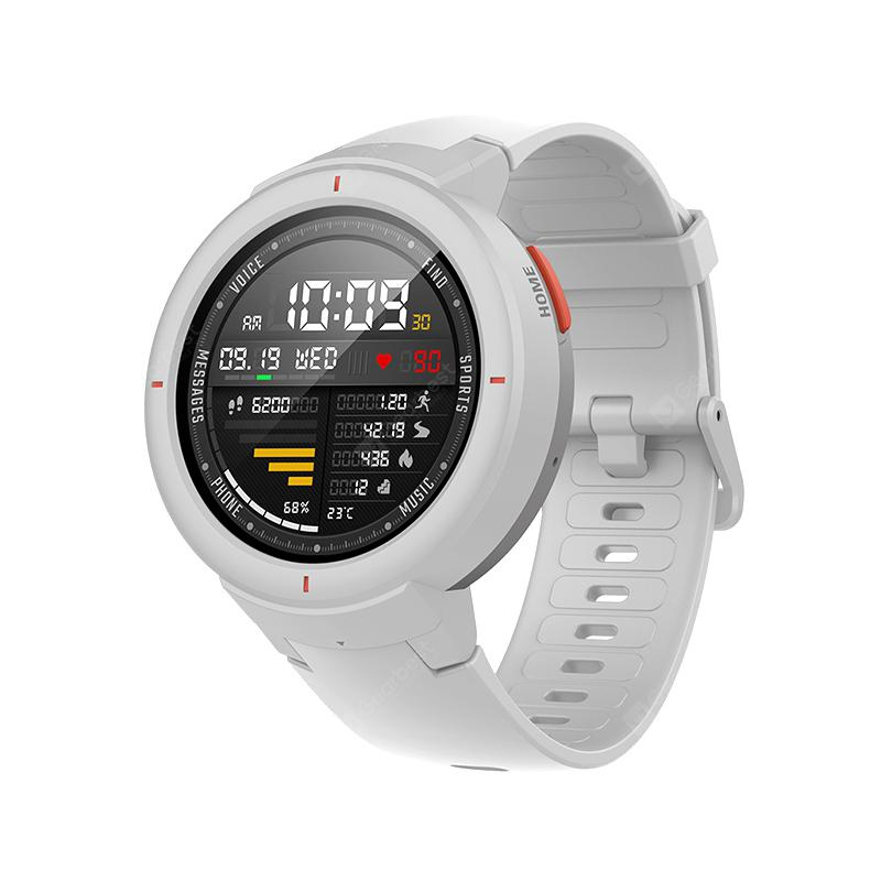 Amazfit Verge Smart Watch Bluetooth Sports Smartwatch Global Version - Xiaomi Ecosystem Product - White Hong Kong【HK】
