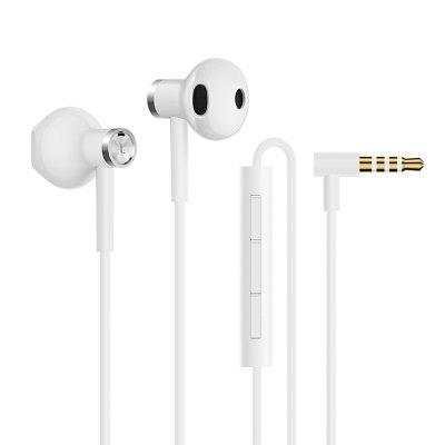 Xiaomi Hybrid DC Dual Driver Earphone Half In-Ear Wired Control 3.5mm Headsets