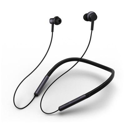 Xiaomi Versão Jovem Bluetooth Colar Headphone Headset Neckband Sport Earphone - Preto