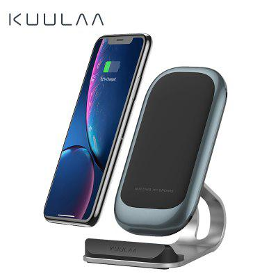 KUULAA Qi Wireless Charger 10W Fast Wireless Charging Dock Station Phone Holder Charger