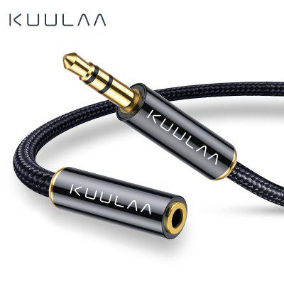 KUULAA Jack 3.5 mm Audio Extension Cable 3.5mm Jack Aux Cable for Huawei xiaomi
