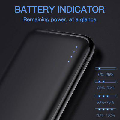 KUULAA 10000mAh Dual USB Power Bank at Only $9.99 for 18W Fast Charging and a More Pleasurable Journey!