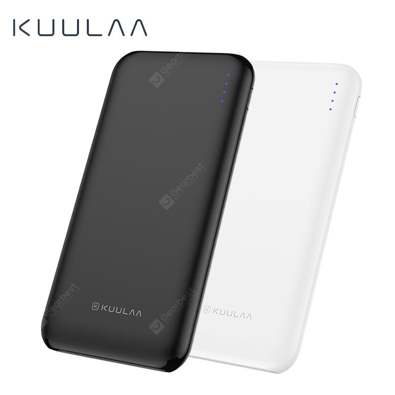 KUULAA 10000mAh Quick Charge 3.0 USB Power Bank External Battery Phone Charger QC3.0
