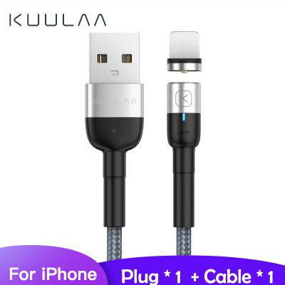 KUULAA Magnetic Micro USB Type C Cable Fast Charging USB Cable Magnet Charger Wire Cord