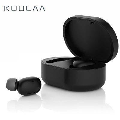 KUULAA Xiaomi Redmi Airdots Case Silicone Protective Cover Earphone Case Airdots True Wireless