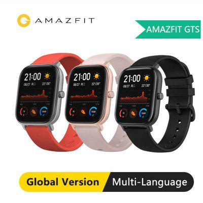 Global Version Amazfit GTS Smart Watch GPS AMOLED Running Sports Heart Rate 5ATM Waterproof Bracelet Smart Watch Amazfit Image