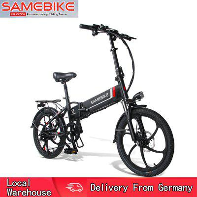Samebike 20LVXD30 Smart Folding Electric Moped Bike E-bike - Black EU plug Germany