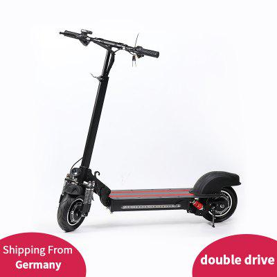 Lamtwheel  Electric Scooter10 Inch wheel Drive Scooter Mix Speed 35km/h 48V600W Motor