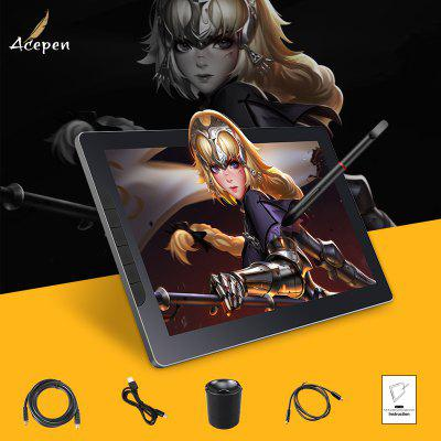 Acepen AP1303 Drawing Monintor with 8192 Pen Pressure and OGS Full Laminated 13 Inch IPS Screen