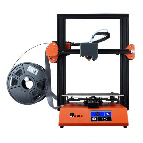 Gearbest J2 Half-Diy Kit 3D Printer Home Quasi-industrial LCD Color Screen Desktop 3D Stereo Printer
