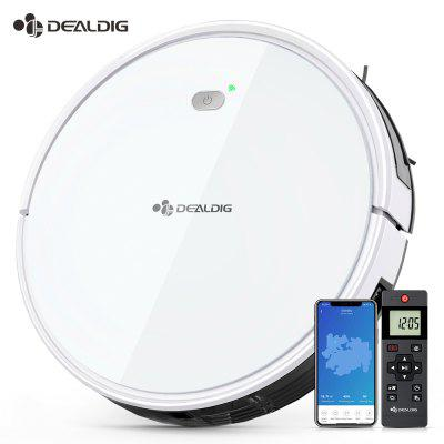 DEALDIG Robvacuum 8 Robot Vacuum Cleaner with WiFi Connectivity for Alexa