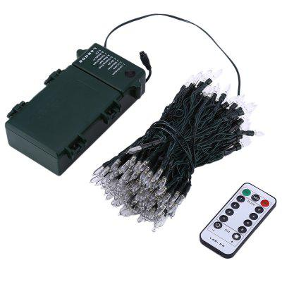 Battery Powered 8 Modes 200 LEDs String Light Waterproof Outdoor Decorative Lamp