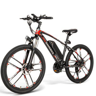 Samebike MYSM26 Electric Bicycle 350W 48V Outdoor Electric Moped Bicycle Image