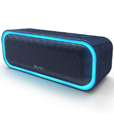 DS - BT10 Pro Wireless Bluetooth Stereo Speaker Bass Soundbox with LED Light  -0219