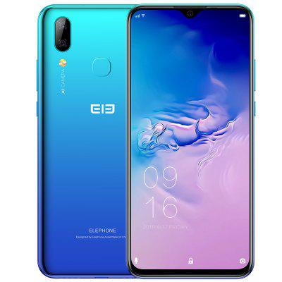 Elephone A6 MAX 4G Phablet 6.53 inch Android 9.0 Helio P22 Octa Core 4GB RAM 64GB ROM