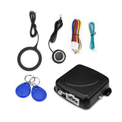 GY902C Car RFID Anti-theft Hidden Lock Security Alarm System One Key Startup for DC 12V Vehicle