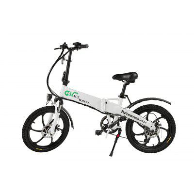 CMACEWHEEL 20 inches Electric Bicycle Lithium Battery BLACK WHITE Image