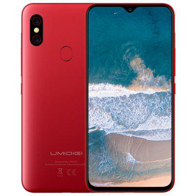 UMIDIGI F1 4G Phablet 6.3 inch Android 9.0 Helio P60 Octa Core 2.0GHz 4GB RAM 128GB ROM 16.0MP Image