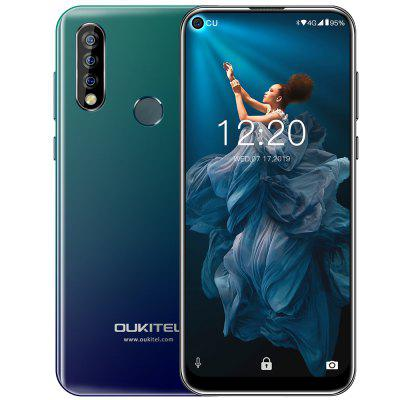 OUKITEL C17 Pro 4G Phablet 6.35 inch Android 9.0 MT6763 Octa Core 4GB RAM 64GB ROM 13.0MP + 5.0MP + 2.0MP Rear Camera 3900mAh Battery